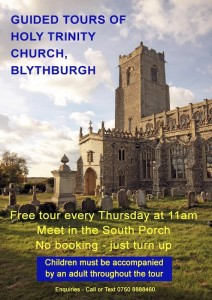 Tours of Holy Trinity, Blythburgh.