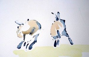 Ruth-McCabe.-Receding-Hares.-Ink-and-wash