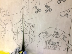 primary-school-mural-doom-and-sign-and-bikes