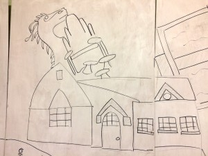 primary-school-mural-dragon
